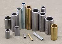 Fabricated metal tubular shapes